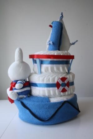 Nijntje Sailor taart XL